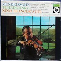 Mendelssohn, Tchaikovsky - Violin Concertos, FRANCESCATTI, MITROPOULUS, CBS 6Eye