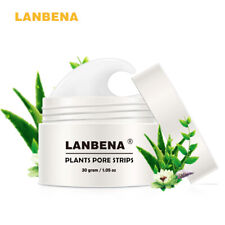 LANBENA Blackhead Remover Nose Acne Peel off Mask Facial Pore Strips Cleanser