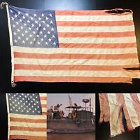 Rare Original Vietnam PBR Patrol Boat River 50 Star Soldier's Combat Flag Relic