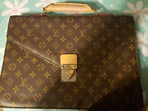 Louis Vuitton Monogram Serviette Conseiller Briefcase - Brown (M53331)