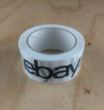 1 Roll Official eBay Brand Black Logo Packing Shipping Tape