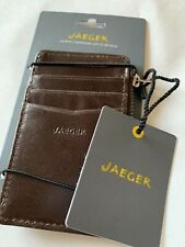 Jeager Leather Card Holder Wallet