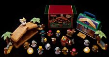 HUGE VGT LOT Little People Christmas Nativity Bethlehem 3 Wisemen Christmas BOX+