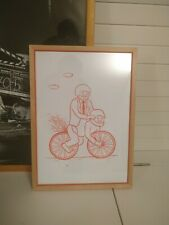 Limited Edition Joan Cornella Risograph Framed