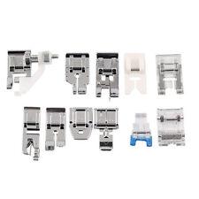 Kit 11x Piedino piede piedini premistoffa universali per macchine da cucire