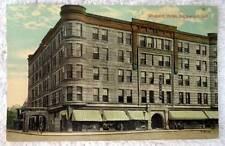 1913 POSTCARD THE WESTCOTT HOTEL RICHMOND INDIANA #2S