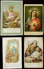 lotto santini-holy cards lot-lot images pieuses-konvolut heiligenbildichen 2479