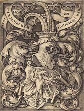 Sebald BEHAM tedesco cappotto delle armi Eagle Vecchia Pittura Arte Poster Stampa bb6353a