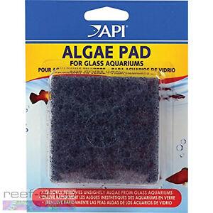 API Algae Pad For Glass Aquariums Sturdy Long Lasting Hand Held Algae Scrubber