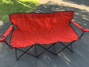 SNAP ON Tools Folding Bag Chair For 3 People Out Door Seating Camping Chair