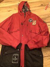 LINE Outsider Ski Jacket, XL, Red