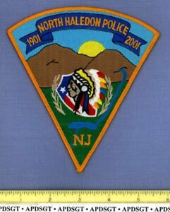 NORTH HALEDON NEW JERSEY Sheriff Police Patch INDIAN LAKE FE COLORFUL!
