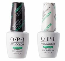 OPI Gel Color PRO HEALTH Base And Top Coat- 15ml Same Day Free Postage