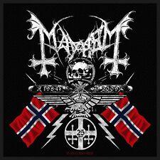 MAYHEM - Patch Aufnäher - Coat of arms 10x10cm