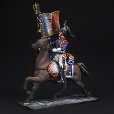 Tin soldier, Senior sergeant-serf of the 5th cuirassier, Napoleonic Wars, 54 mm