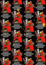 NIGHTMARE BEFORE CHRISTMAS Personalised Christmas Gift Wrap - Wrapping Paper