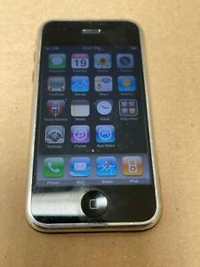 Vintage Apple iPhone First 1st Generation A1203 8GB iOS 3.1.3 AT&T