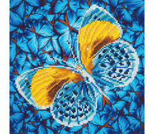 Diamond Dotz embroidery facet art kit, Flutter By Gold 30.5 x 30.5cm DD5.016