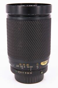 TOKINA SZ-X 28-200mm f/3.5-5.3 lens for Pentax PKA with fault Professionally ...