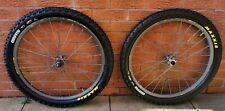 "VGC Mavic Crossmax SX wheelset wheels 20 135mm 26"" SL SLR ST new maxxis tyres"