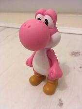 Super Mario Bros World Nintendo 2007 Pink Yoshi Figure