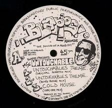 "MC Untouchable(W/lbl Promo 12"" Vinyl)Untouchable Theme-Blapps-SEX 072-U-VG/VG"