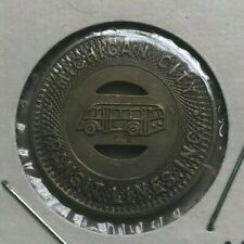 Michigan City Indiana IN Michigan City Transit Lines INC Transportation Token