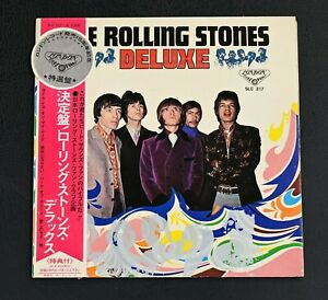 LP Rolling Stones Deluxe Japan SLC 217 Obi Silberversion