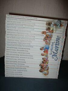 LOT LIVRES ENFANTS - JEUNESSE / MARTINE / 52 TITRES / COLLECTION QUASI COMPLETE