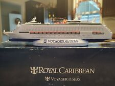 """Voyager of the Seas Model Cruise Ship. Royal Carribean,12"""" Resin, NEW with BOX"""