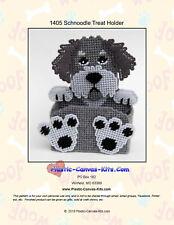 Schnoodle Dog Treat Holder- Plastic Canvas Pattern or Kit