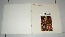 Francisco Verd DURAN I maestri spagnoli - Ed Teca Torino catalogo
