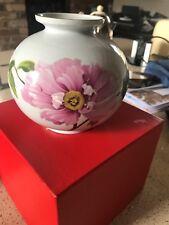 SPODE Pietra GLOBE VASO Flower Pattern in Scatola