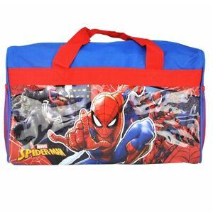 "Marvel Spider-man Venom Carnage Kids Girls Travel Duffel Diaper Gym Bag 17"""