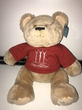 "Commonwealth Games Manchester 2002 - Official 14"" Soft Plush Toy Bear VGC Tags"