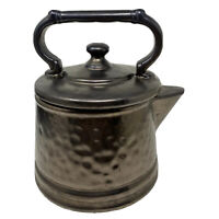 Vintage 1950s McCoy USA Pottery Tea Pot Cookie Jar With Lid Mid Century