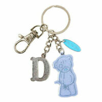 Me To You Tatty Teddy Bear Letter D Keyring with Charms by Carte Blanche