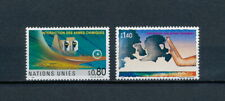 United Nations Geneva  205-6 MNH, Chemical Weapons Ban, 1991