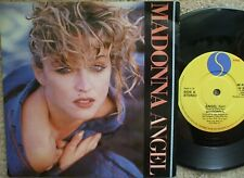 Madonna - Angel / Burning Up - EX- Vinyl  + Picture Sleeve W 8881