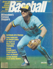 1983 BREWERS Robin Yount Street & Smith's Yearbook vintage original Milwaukee