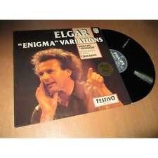 LSO & COLIN DAVIS enigma variations - overture cockaigne SIR EDWARD ELGAR Lp 65