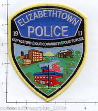 Pennsylvania - Elizabeth PA Police Dept Patch