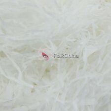 100g White Luxury Shredded Tissue Hamper Paper Gifts Packaging Idea Acid Free