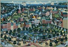 "Jigsaw puzzle Explore America Boston Massachusetts NEW 500 piece 24""x18"""