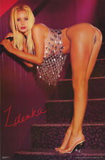 LOT OF 2 POSTERS : ZDENKA - SEXY FEMALE MODEL -  FREE SHIPPING !  #3278 RC2 Q
