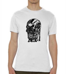 Terminator Head Sketch Artwork Men's T Shirt