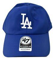 '47 Brand Mens MLB Los Angeles Dodgers 47 Clean Up Strapback Hat Cap New