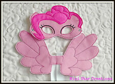 Handmade Kids Eye Mask and Small Wings Set - Pinkie Pie  - My Little Pony