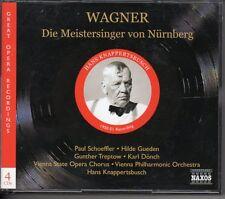Wagner Die Meistersinger von Nürnberg Hans Knappertsbusch 4 CD Opera