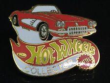 58 Corvette Hat / Lapel Pin Hot Wheels Vintage Mint